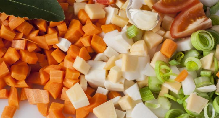 Troceamos la verduras