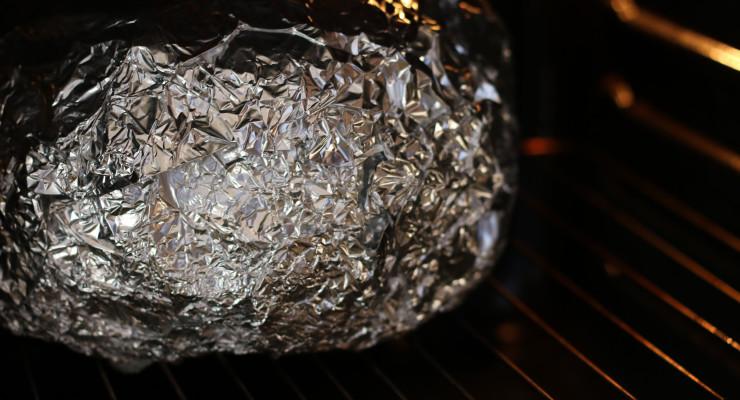 Envuélvela en plata y al horno
