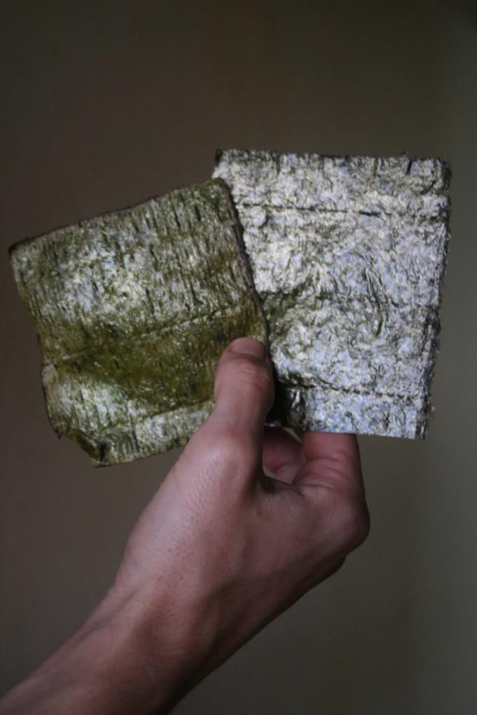 diferencia entre lámina tostada y cruda
