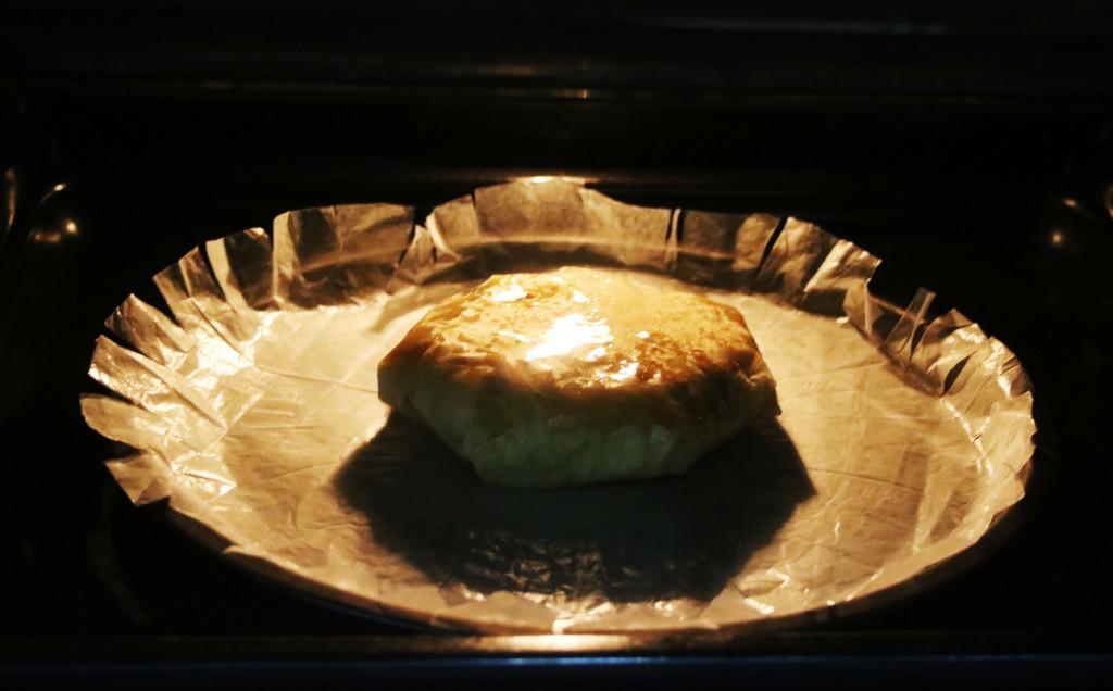 Dora en el horno