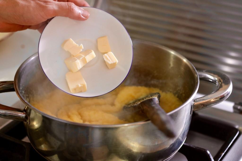 y la mantequilla