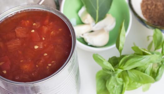Una exquisita salsa de tomate