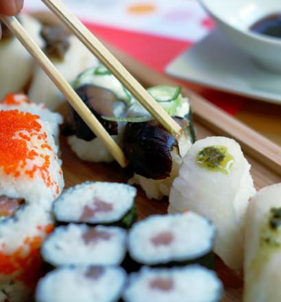 Sushi variado, 10 piezas